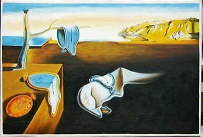 Ölbilder Ölgemälde Gemälde Dali: The Persistence of Memory (80x60cm)