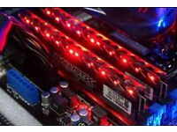 Ballistix Tactical Tracer 8GB (2x4GB) DDR3 1866 MHz PC3-14900 UDIMM LED