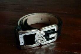 "Dolce & Gabbana ""D&G"" logo belt • size 85 cm/34 inches • RRP £200"