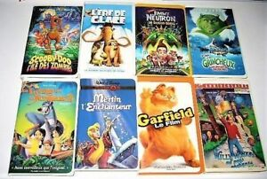 Films en VHS  de Disney, animation divers 3$ et +
