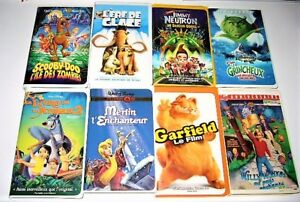Collection films VHS Disney, animation divers 3$ et +