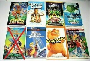VHS Films d'animation Divers, Disney 3$ et plus