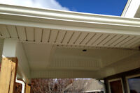 wanted person to install caulking / soffits channel