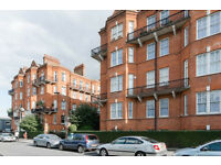 A spacious three bedroom flat in mansion block, 2 mins to West Kensington station