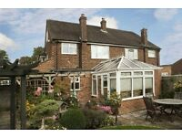 A Very Nice 4 Bed Semi-Detached House to Rent for TWO WEEKS only 17--31/Oct/2016 UNFURNISHED.