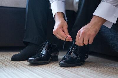 Pack 12 pares calcetines de vestir. Hombre. Algodón. Negro. Talla 40 /...