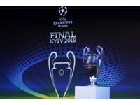 KIEV champions league final hotel reservation 2 nights may 25th-27th