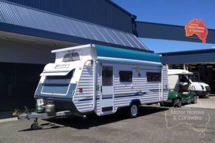 Paramount Caravan - Delta Pop Top #6775 Windale Lake Macquarie Area Preview