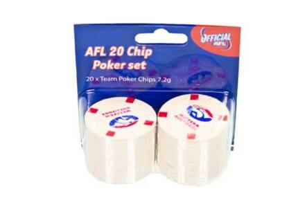Bulldogs/Footsgray AFL Poker Chips  NEW