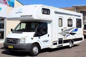 Winnebago Ford Transit Motorhome #6019 Windale Lake Macquarie Area Preview