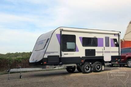 Avida Multi-Terrain Caravan - Emerald CV6034QB #7013 Bennetts Green Lake Macquarie Area Preview