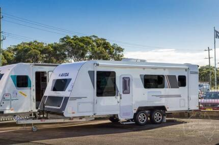 Avida Tourer Caravan - Emerald CV7236 (Bunk Beds) #6506 Windale Lake Macquarie Area Preview