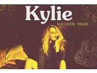 2 x Kylie Minogue Tickets O2 Arena London 27th September