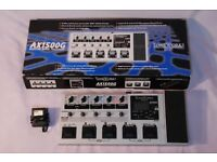 Korg AX1500G guitar effect processor, multi effect.