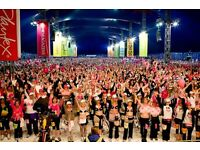Stewarding at Moonwalk London