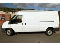 Ford transit 2.4 Tdci, long wheel base, medium roof 2010, 60k