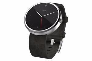 Original Authentic Genuine OEM LIKE NEW Motorola Moto 360 1st Generation Android Smart Watch