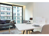 Luxury modern studio apartment with Gym, amazing Roof Terrace in the heart of the new KINGS CROSS