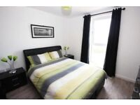 Complete 1 bed flat clearance - great matching furniture, Double bed, sofa bed, high table & Charis