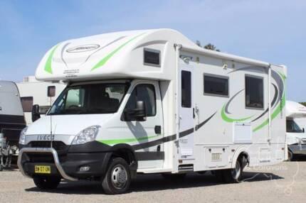 Sunliner Motorhome - Twist #6766 Windale Lake Macquarie Area Preview