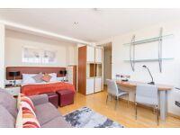 Studio flat in Roland House, Old Brompton Road, Kensington, SW7