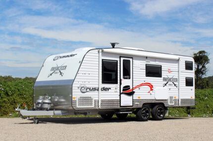 Crusader Caravan - Musketeer Family #5508 Windale Lake Macquarie Area Preview