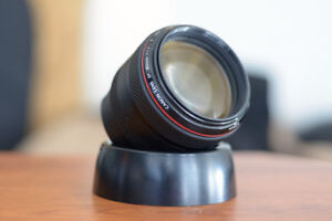 Canon 85 f1.2 IS II (Used barely) with ND-filters