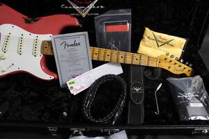 Fender cs ltd ed. Mischief Maker stratocaster mint condition