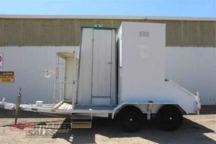 Custom Semi Toolbox/Toilet Combination Parts - SN#151000