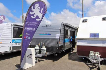 Royal Flair Caravan - PD Series 18'6-3 SL Edition #6819 Windale Lake Macquarie Area Preview