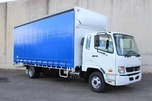 Fuso Fighter******1024, Manual 10Pallet Curtainsider Rocklea Brisbane South West Preview