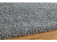 New silver grey rug