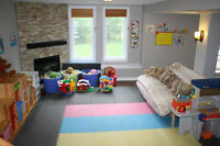 Stittsville daycare has a part time space available