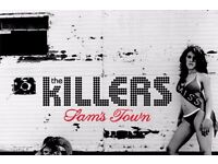 The Killers - 2 tickets - Newcastle - Metro Radio Arena - 10 November - Area 201