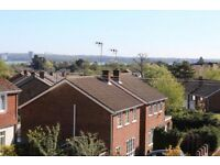Hythe 2 Bed Maisonette, Garage, Private Garden, Direct with LLord. Sea Views Hollybank Estate