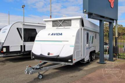 Avida Tourer Pop Top Caravan - Wave PT6017 (Bunk Beds) #6820 Windale Lake Macquarie Area Preview