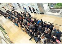 Professional Queue Sitter - £15 for 1 hour