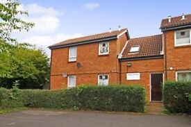 Spacious and bright semi-furnished studio flat with allocated parking in Burpham, Guildford