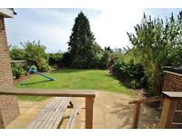 4 Bed Detached House in desirable High Salvington Village nr Worthing with distant sea-views