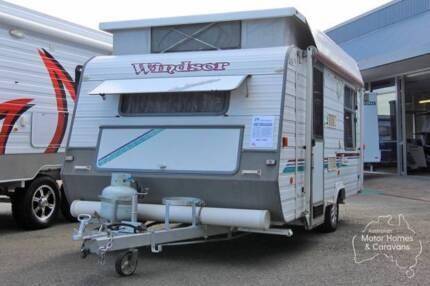 Windsor Pop Top Caravan - Windcheater #7104 Windale Lake Macquarie Area Preview