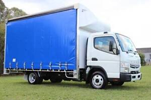Fuso Canter 515 Wide AMT, 6P Curtainsider Curtainsider Rocklea Brisbane South West Preview