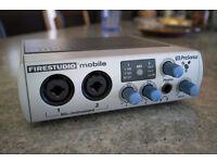 Audio interface Presonus Fire Studio Mobile