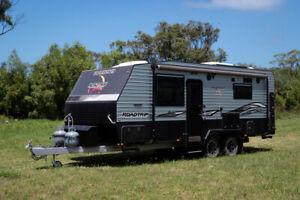 Vacationer Road Trip Caravan #8300 Bennetts Green Lake Macquarie Area Preview