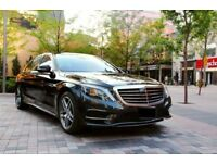 Rent a new Mercedes s class limousine for your wedding occasions, luxury and business trip