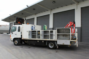 Hino FD 1024-500 Series *** Maxilift Crane *** Tray Waterloo Corner Playford Area Preview