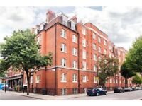 Lovely 2 bed apartment located in a grand mansion block with secure courtyard entrance in Bloomsbury
