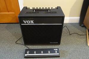 Ampli de guitare VOX VT80 *****LAMPE****Avec Footswitch