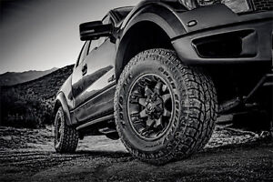 """20"""" levelling kit RIMS & TOYO AT3 tires ONLY $2999 installed!!"""