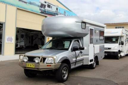 Holden Rodeo Camper #5777 Windale Lake Macquarie Area Preview