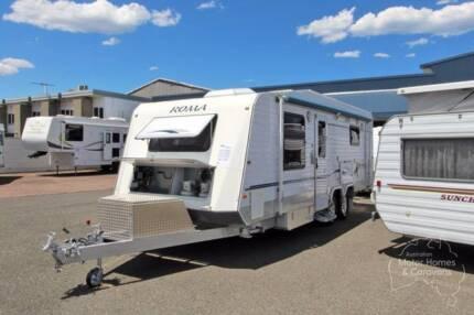 Roma Caravan - Elegance #6835 Windale Lake Macquarie Area Preview